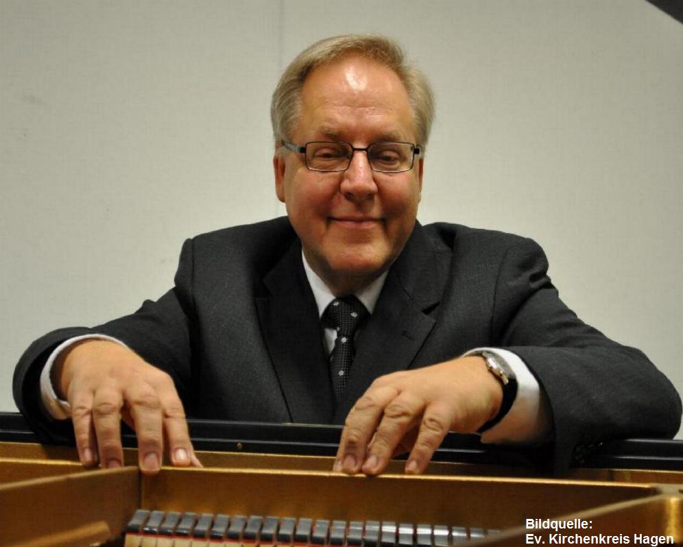 Klavierkonzert mit Prof. Roland Pröll in der Markuskirche
