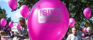 """GEMEINSAM SINGEN BEIM """"!SING – DAY OF SONG"""""""