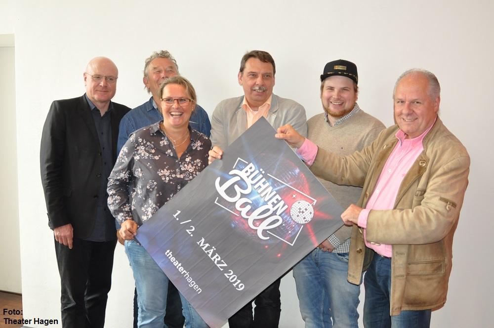 """""""NACH PARIS – TREFFPUNKT MOULIN ROUGE!"""" – BÜHNENBALL 2019 im Theater Hagen"""