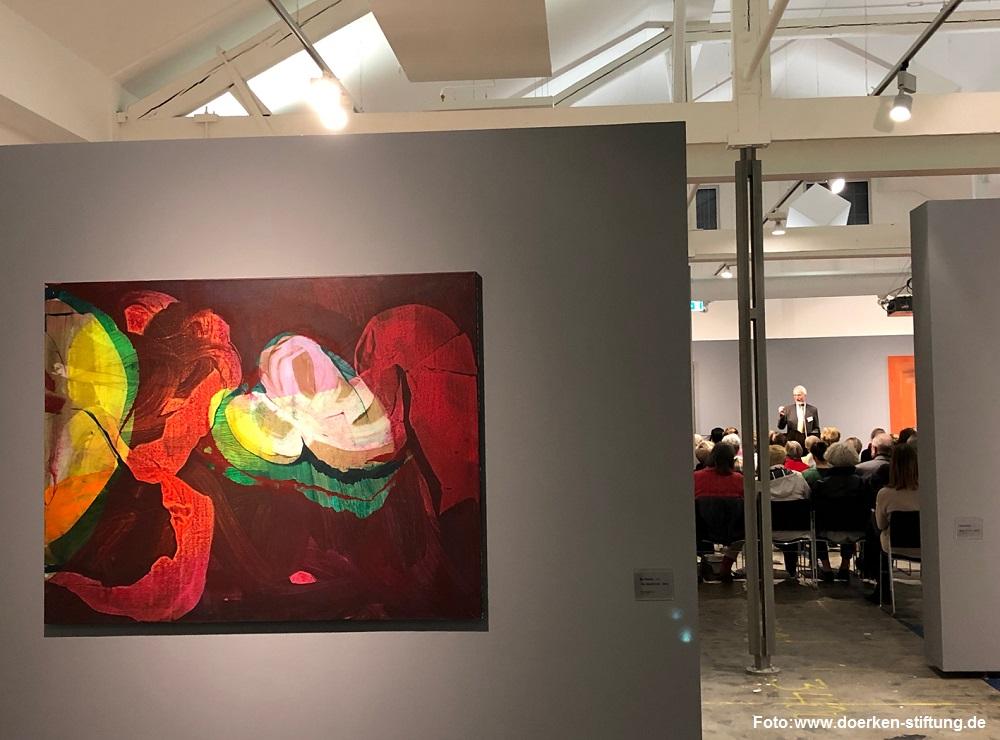 """Werkgespräch zur Ausstellung """"Die Farbe ist lebendig"""""""