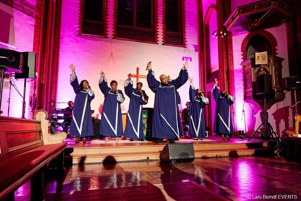 Die New York Gospel Stars kommen nach Hagen