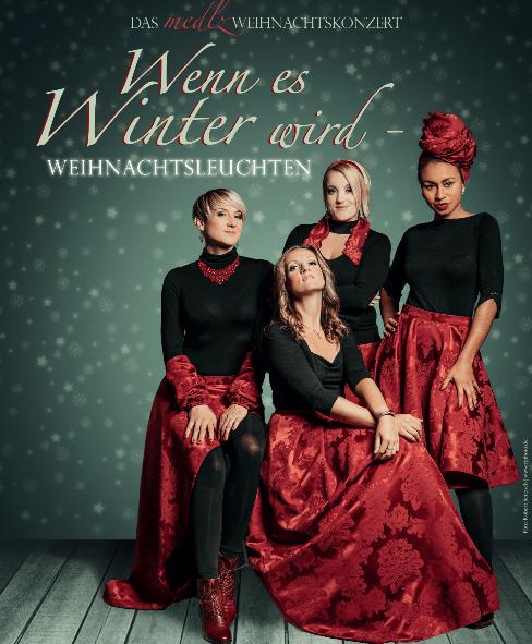 Weihnachtskonzert A cappella Frauenband medlz in Hagen