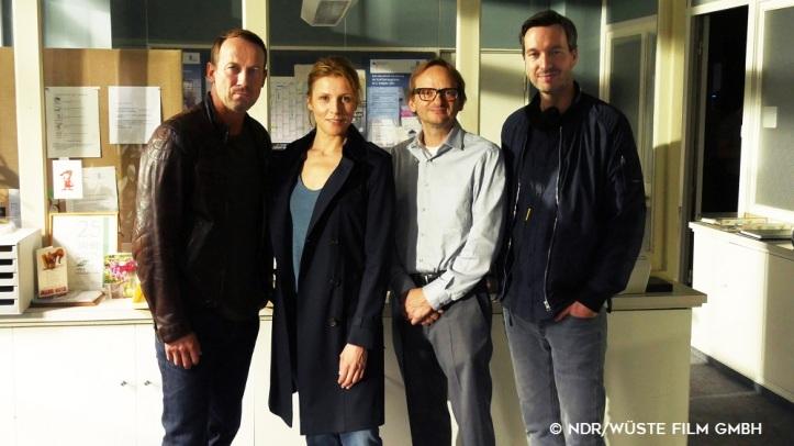 """Drehstart für NDR """"Tatort"""" mit Wotan Wilke Möhring"""