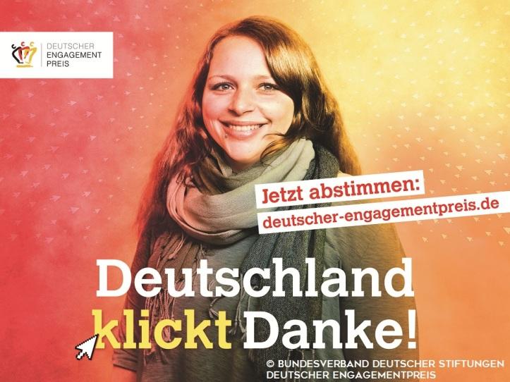 Jetzt abstimmen für den Deutschen Engagementpreis