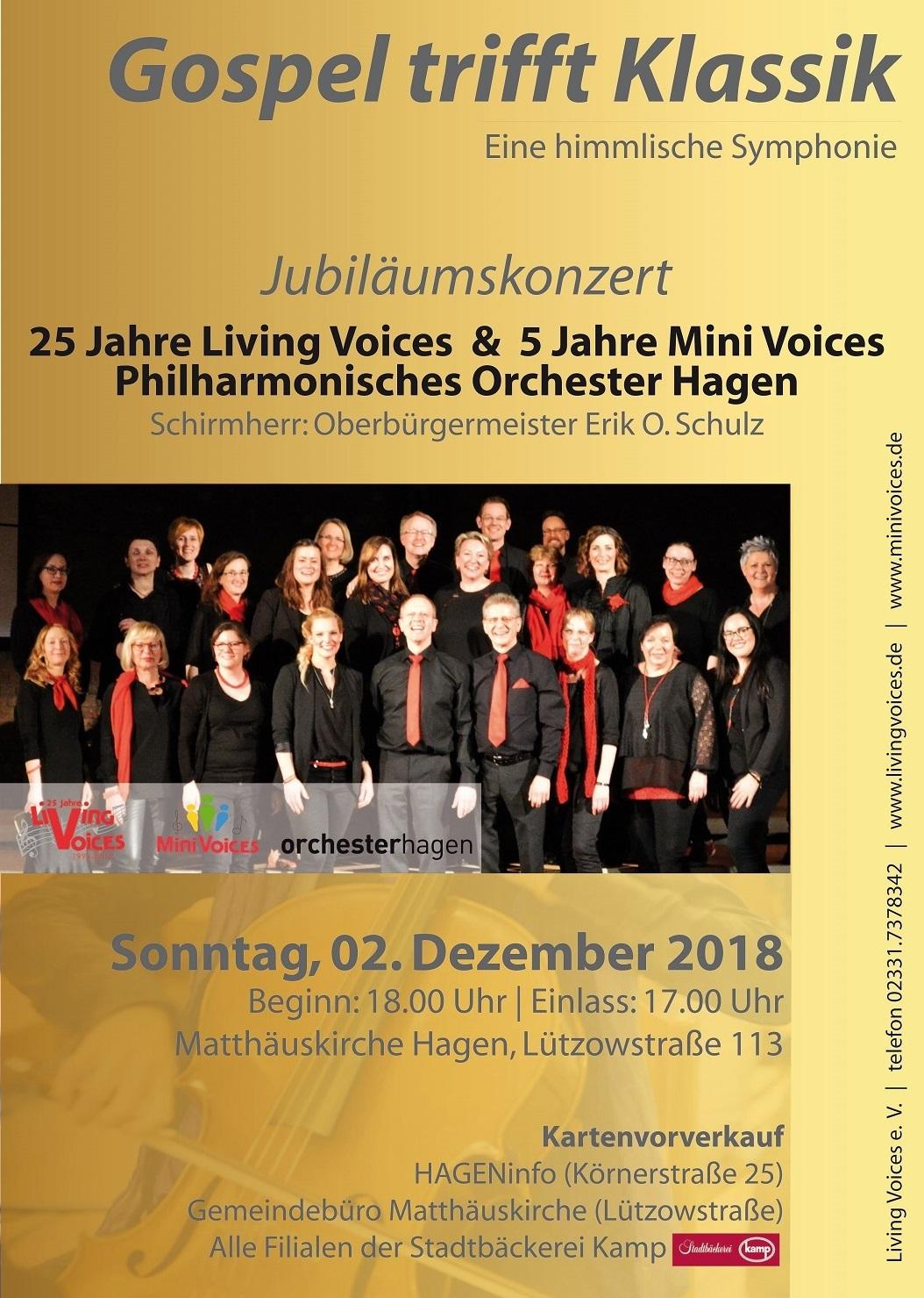 Living Voices blicken auf 25 Jahre Gospelmusik zurück