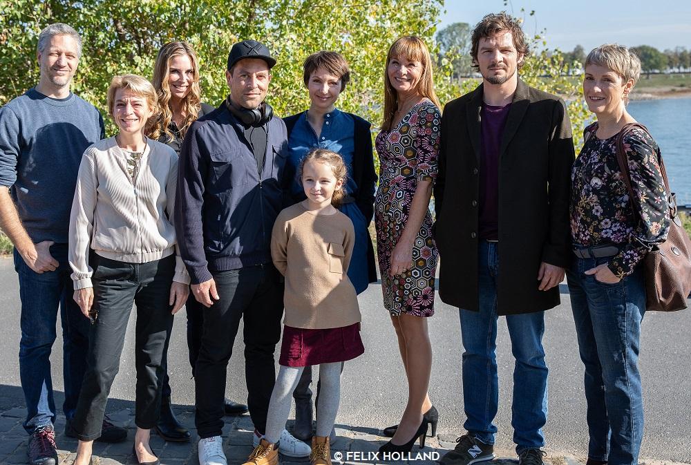 Drehstart: Julia Koschitz und Felix Klare in einem aufwühlenden Familiendrama