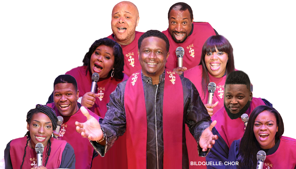 REV. GREGORY M. KELLY & The BEST OF HARLEM GOSPEL in der Johanniskirche Hagen