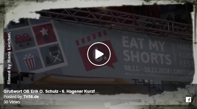 Grußwort OB Erik O. Schulz – 6. Hagener Kurzfilmfestival