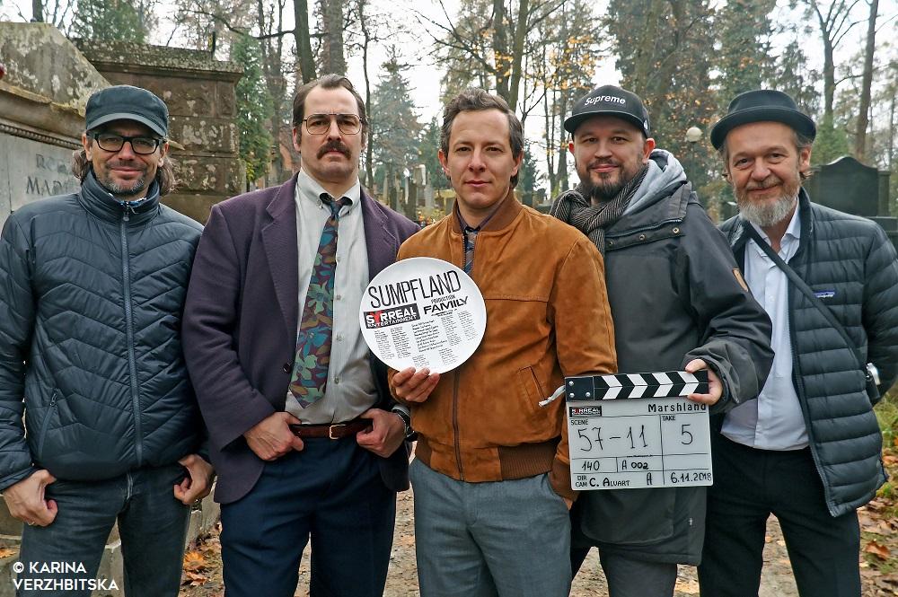 "ZDF dreht Thriller ""Sumpfland"""