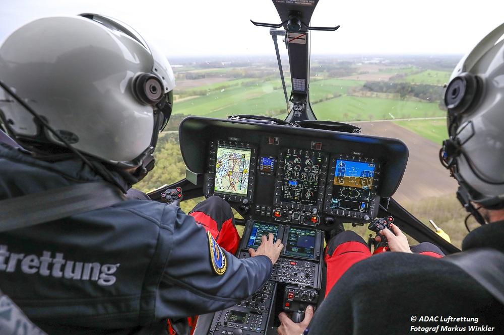 ADAC Luftrettung im Einsatz