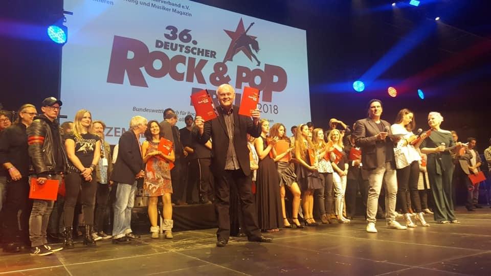 Zwei Auszeichnungen für Conny Conrad beim 36. Rock- und Pop Preis (Video)
