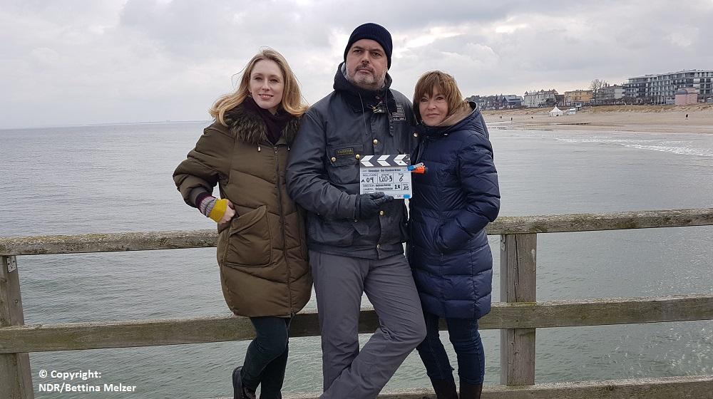 """Drehstart für zehnten """"Usedom-Krimi"""" mit Katrin Sass, Rikke Lylloff und Walter Plathe"""