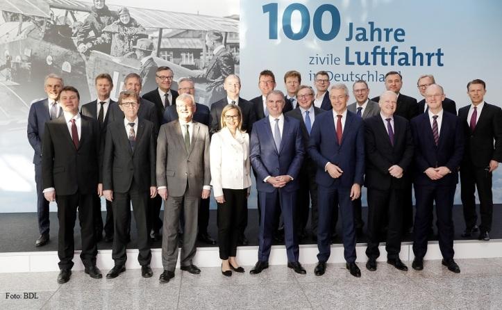 100 Jahre zivile Luftfahrt in Deutschland