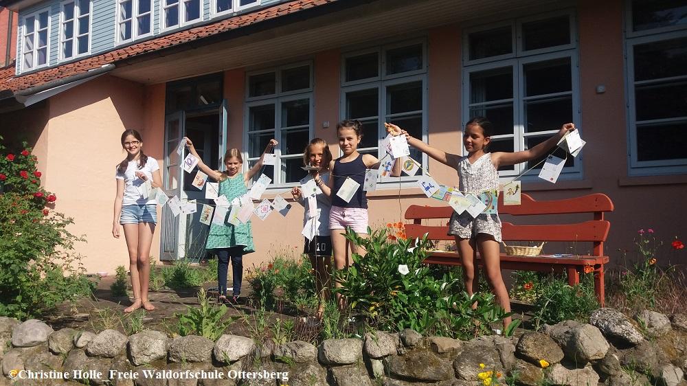 Schülerinnen der Freien Waldorfschule Ottersberg