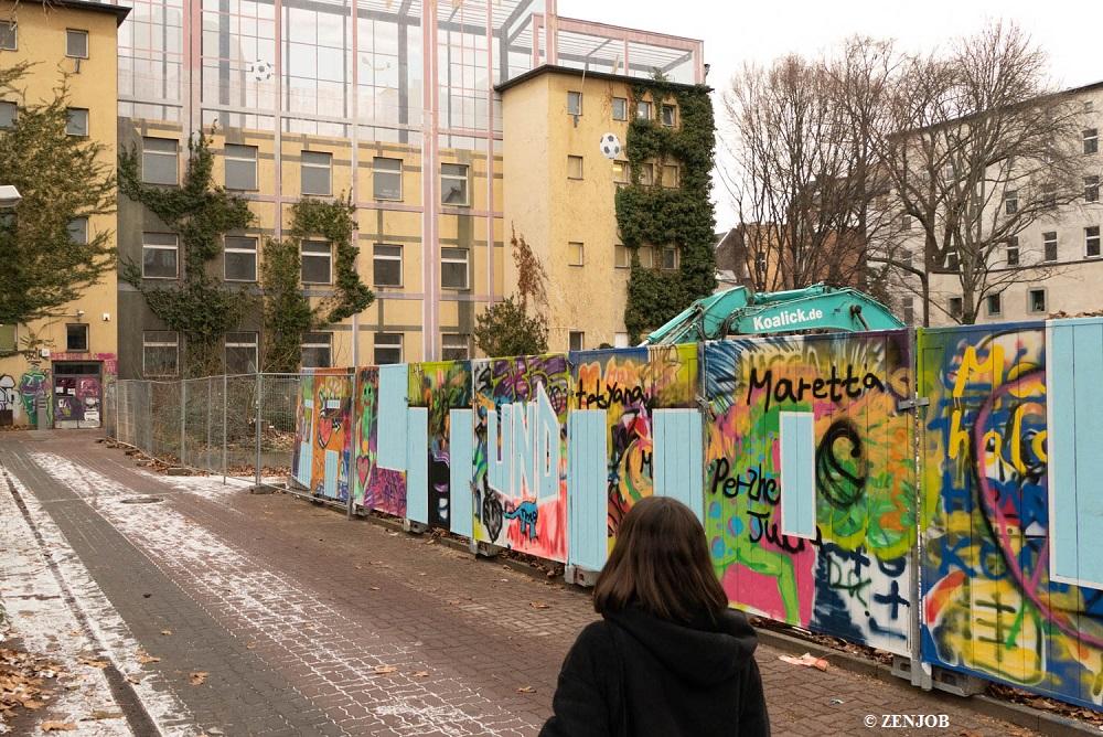 Berliner Studenten helfen Kreuzberger Obdachlosenunterkunft