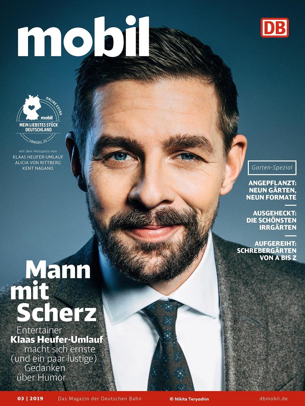 """""""Ich bin oft bemüht lustig"""": Klaas Heufer-Umlauf spricht mit DB MOBIL"""
