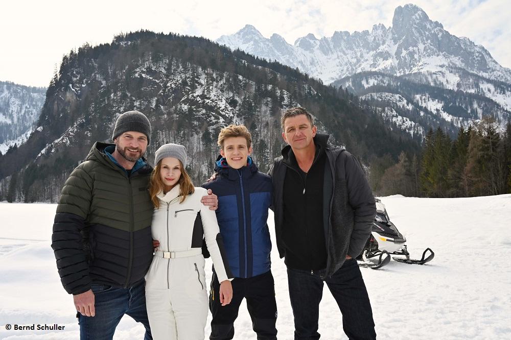 """Der Bergdoktor"": ZDF dreht neues Winterspecial"