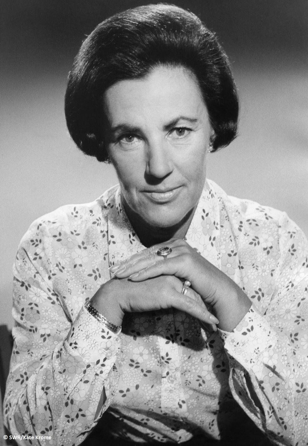 SWR trauert um Rosemarie Bungert Langjährige Leiterin des Freiburger SWF-Studios starb im Alter von 96 Jahren
