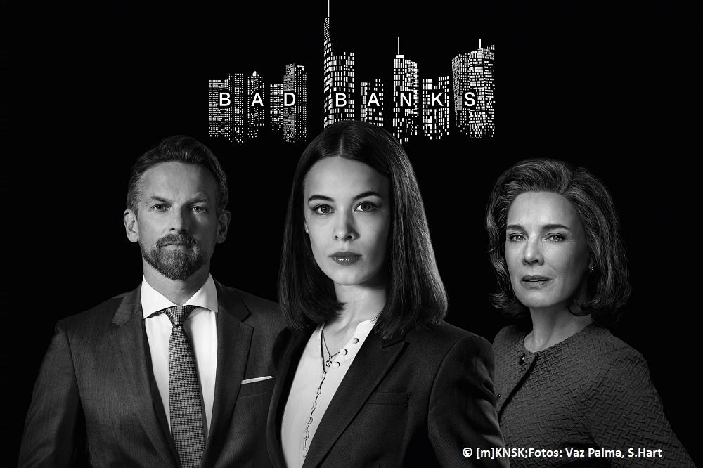 """Deutscher Hörfilmpreis für ZDF/ARTE-Serie """"Bad Banks"""""""