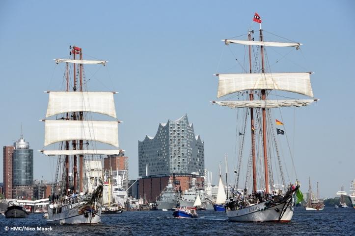Hafengeburtstag Hamburg vom 10. bis zum 12. Mai