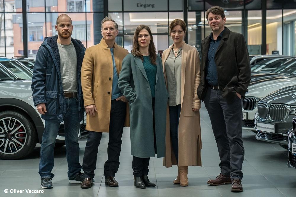 Drehstart für ZDF-Thriller mit Roeland Wiesnekker in Berlin Entführungsfall im Umfeld illegaler Autorennen