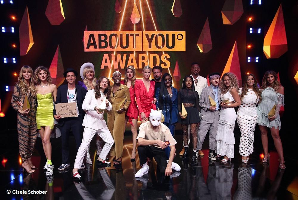 ABOUT YOU Awards 2019: Die größte Influencer Award Show des Jahres begeistert mit vielen Emotionen, hochkarätigen Gästen und einer gewaltigen Portion Glamour