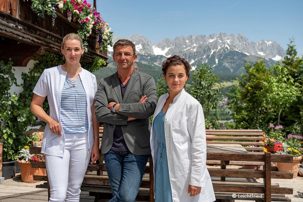 """ZDF-Serie """"Der Bergdoktor"""": Neue Folgen entstehen am Wilden Kaiser"""