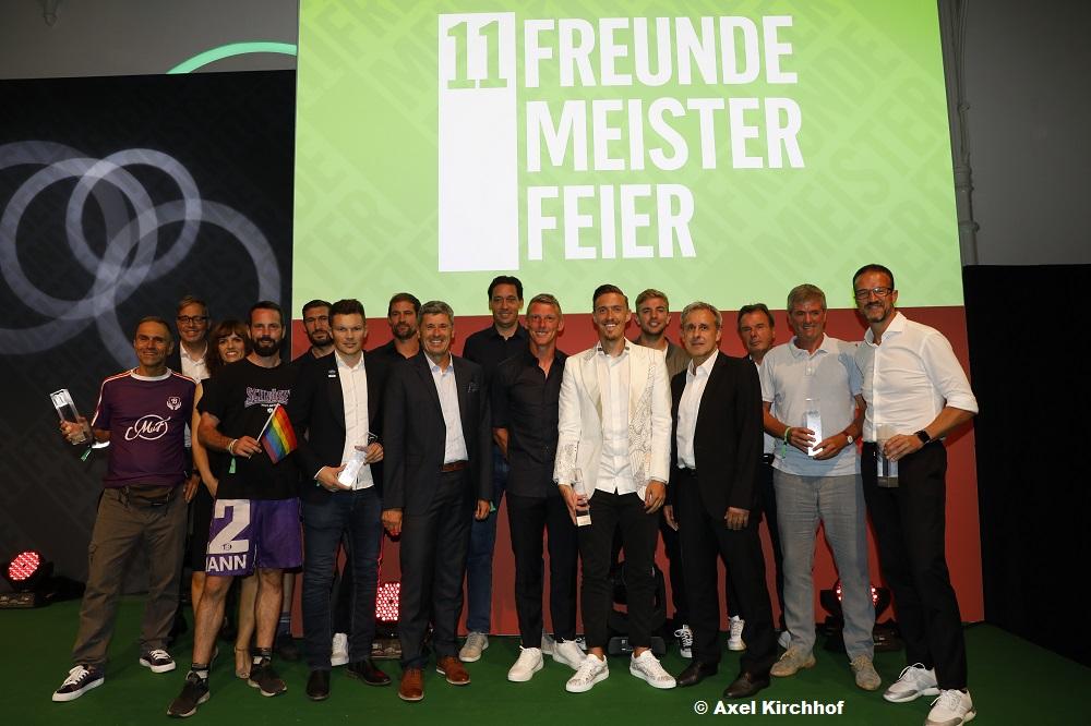 11FREUNDE MEISTERFEIER: Preisverleihung Freitagabend Köln