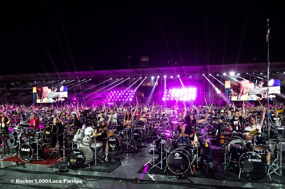 Die 'größte Rockband der Welt' vor Deutschlandpremiere in der Commerzbank-Arena Frankfurt