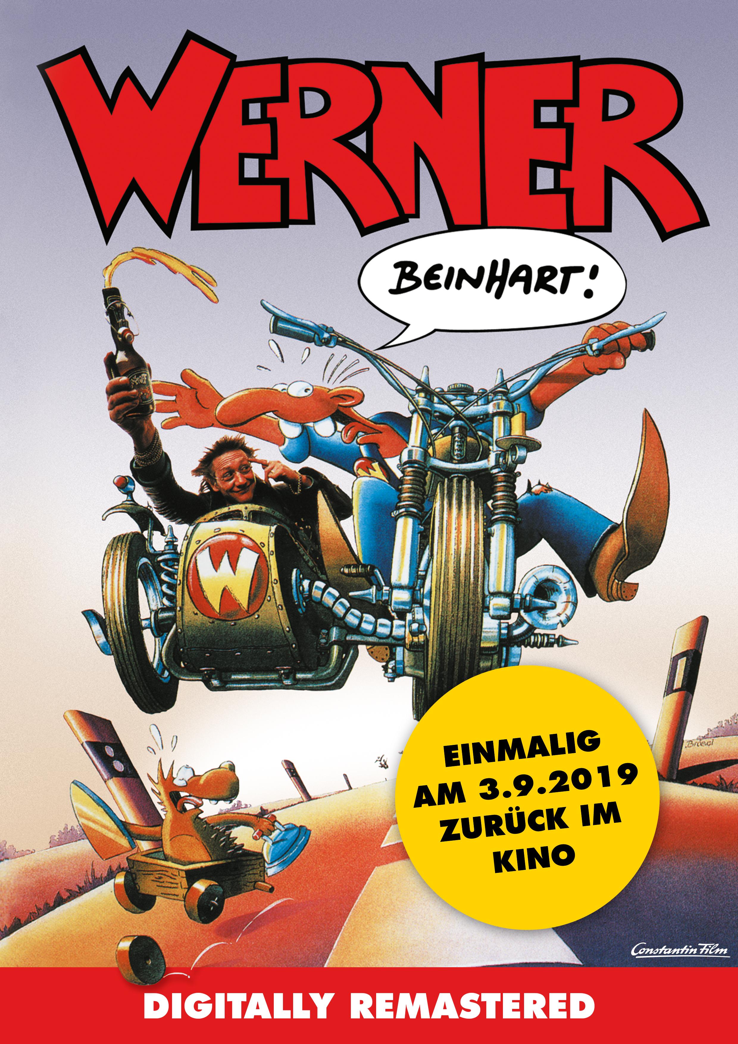 WERNER – BEINHART! zurück auf der großen Leinwand (Video)