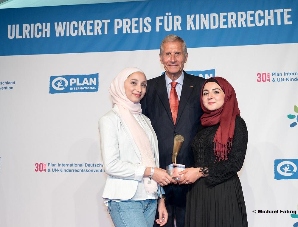 Ulrich Wickert Preis für Kinderrechte zum achten Mal in Berlin an Journalisten verliehen