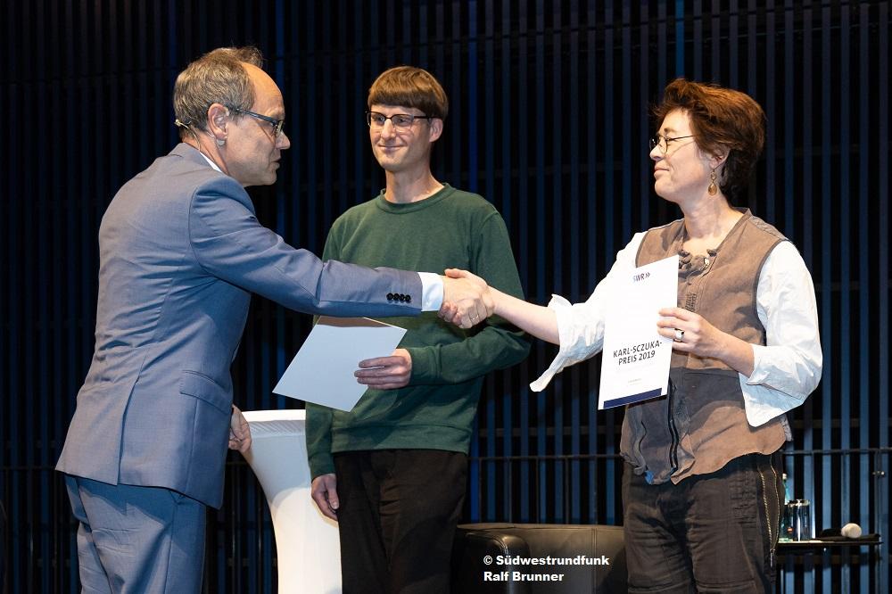 Karl-Sczuka-Preis 2019 für Ulrike Janssen und Marc Matter