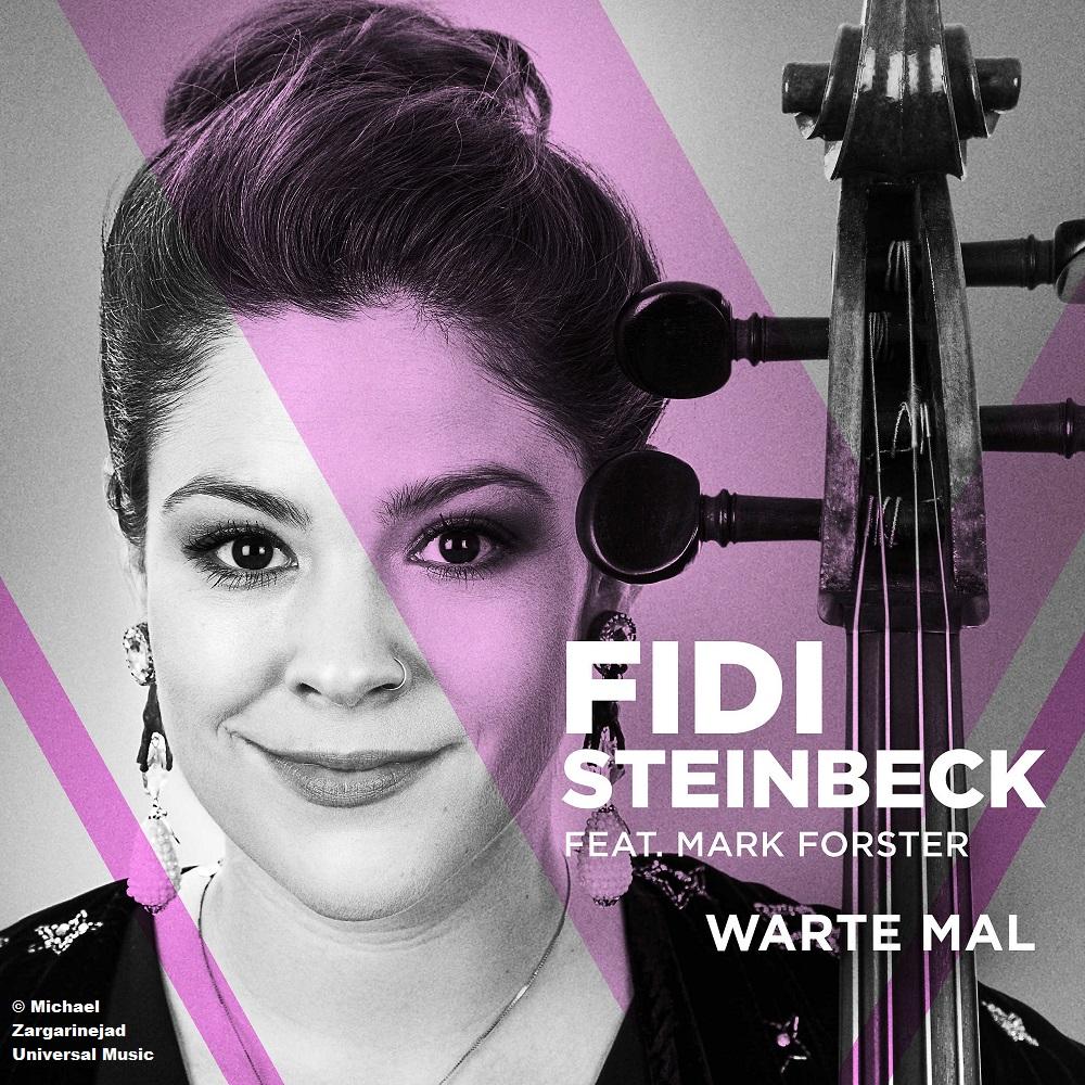 "Fidi Steinbeck feat. Mark Forster: ""Warte mal""."