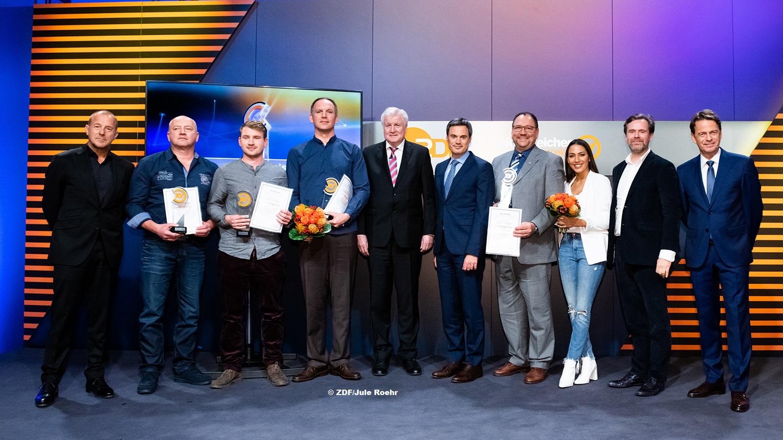XY-Preis 2019: Horst Seehofer ehrt Bürger für Zivilcourage
