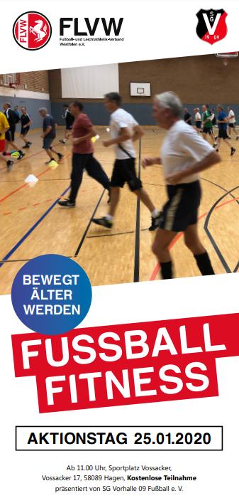 """""""WALKING FOOTBALL – BEWEGT ÄLTER WERDEN"""" VORHALLER FUSSBALLER BRINGEN NEUEN TRENDSPORT NACH HAGEN"""