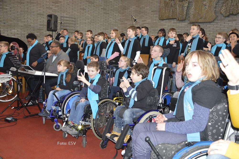 Oberlinschülerladen ein zum Gospel-Konzert