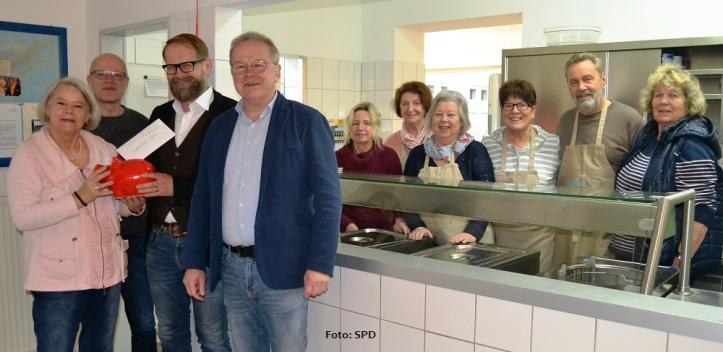 SPD-Spende Suppenküche