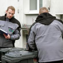 Bilanz Waste Watcher: Erkennbarer Beitrag zur Stadtsauberkeit