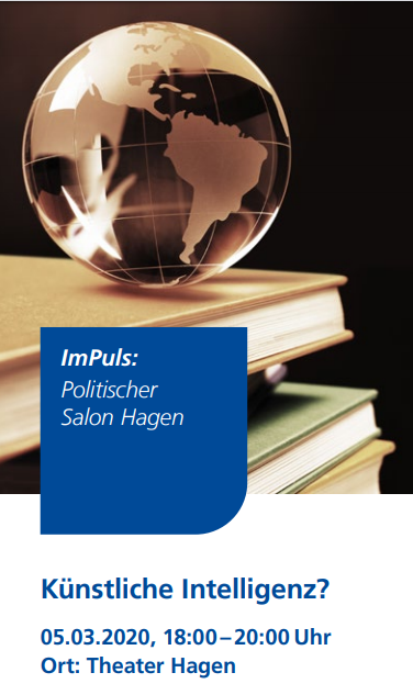 Politischer Salon Hagen zu Künstlicher Intelligenz