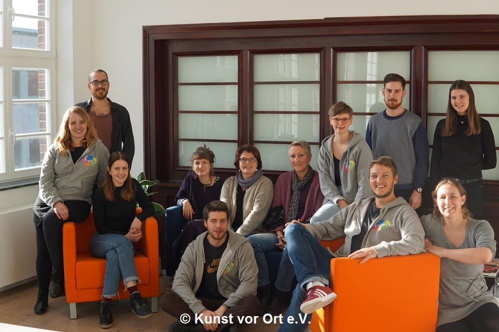 Der Verein Kunst vor Ort bietet digitale Kunstworkshops an