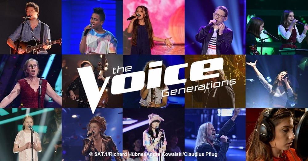 """""""The Voice Generations"""" singen für """"Die Arche"""""""
