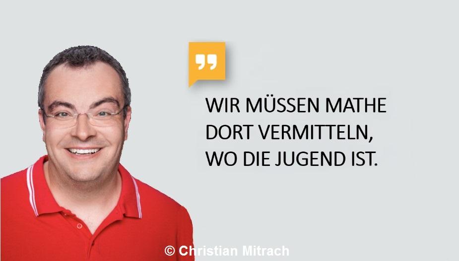 """YouTuber, Mathelehrer und Rektor: """"Lehrer Schmidt"""" ist neuer Mathe-Botschafter der Stiftung Rechnen"""