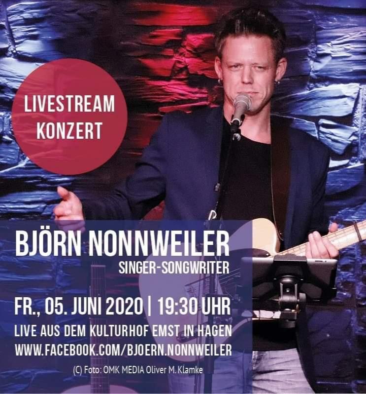 Kulturhof-Gig von Björn Nonnweiler