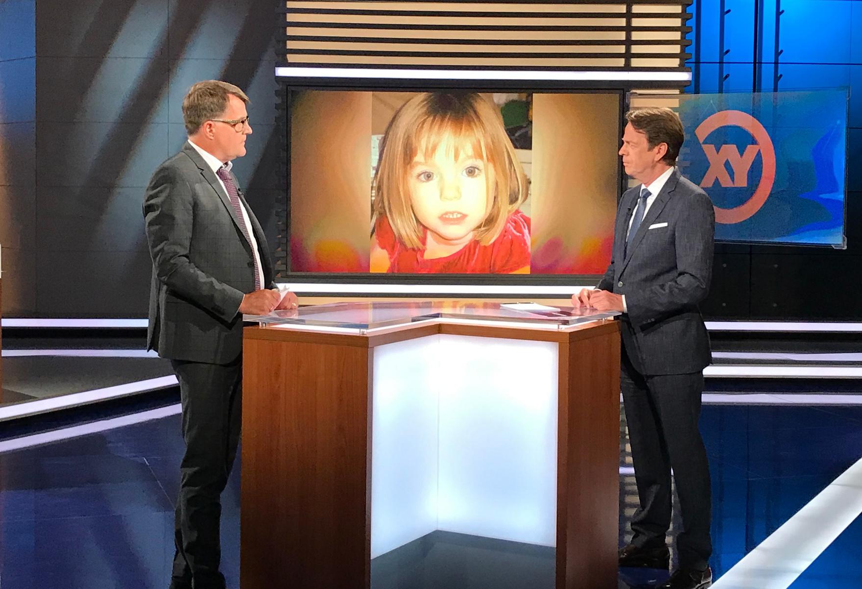 """Hinweise im Fall Madeleine McCann: BKA bittet in Live-Sendung """"Aktenzeichen XY… ungelöst"""" um Mithilfe"""