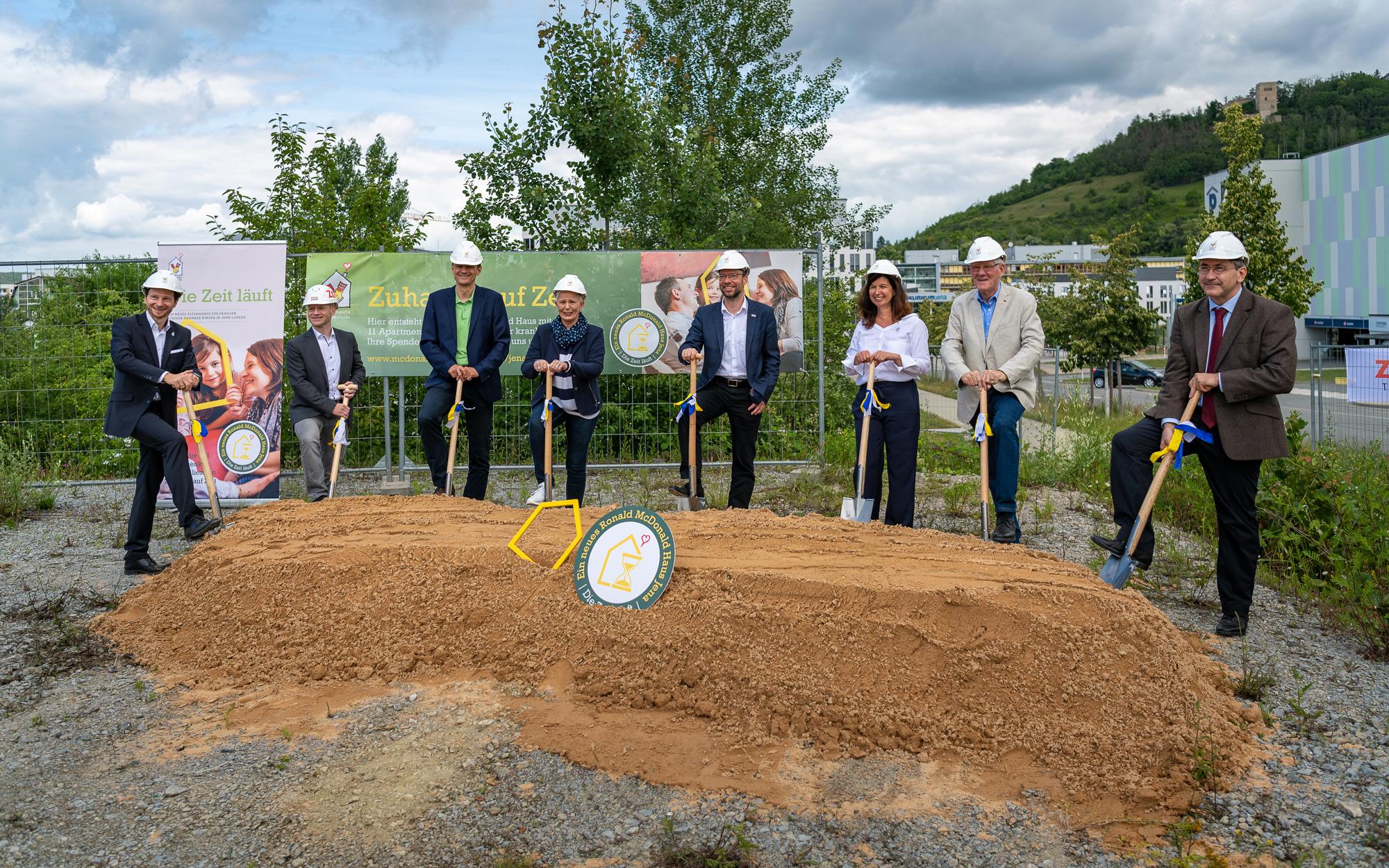 Bau des neuen Ronald McDonald Hauses startet