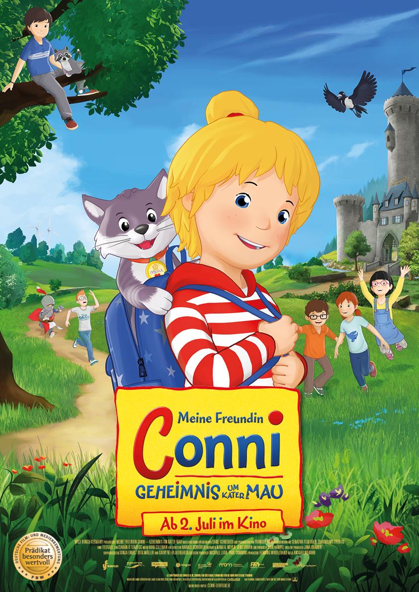 """""""Meine Freundin Conni"""" – Kinofilm, Lizenzprodukte und Promotion gehen Hand in Hand"""