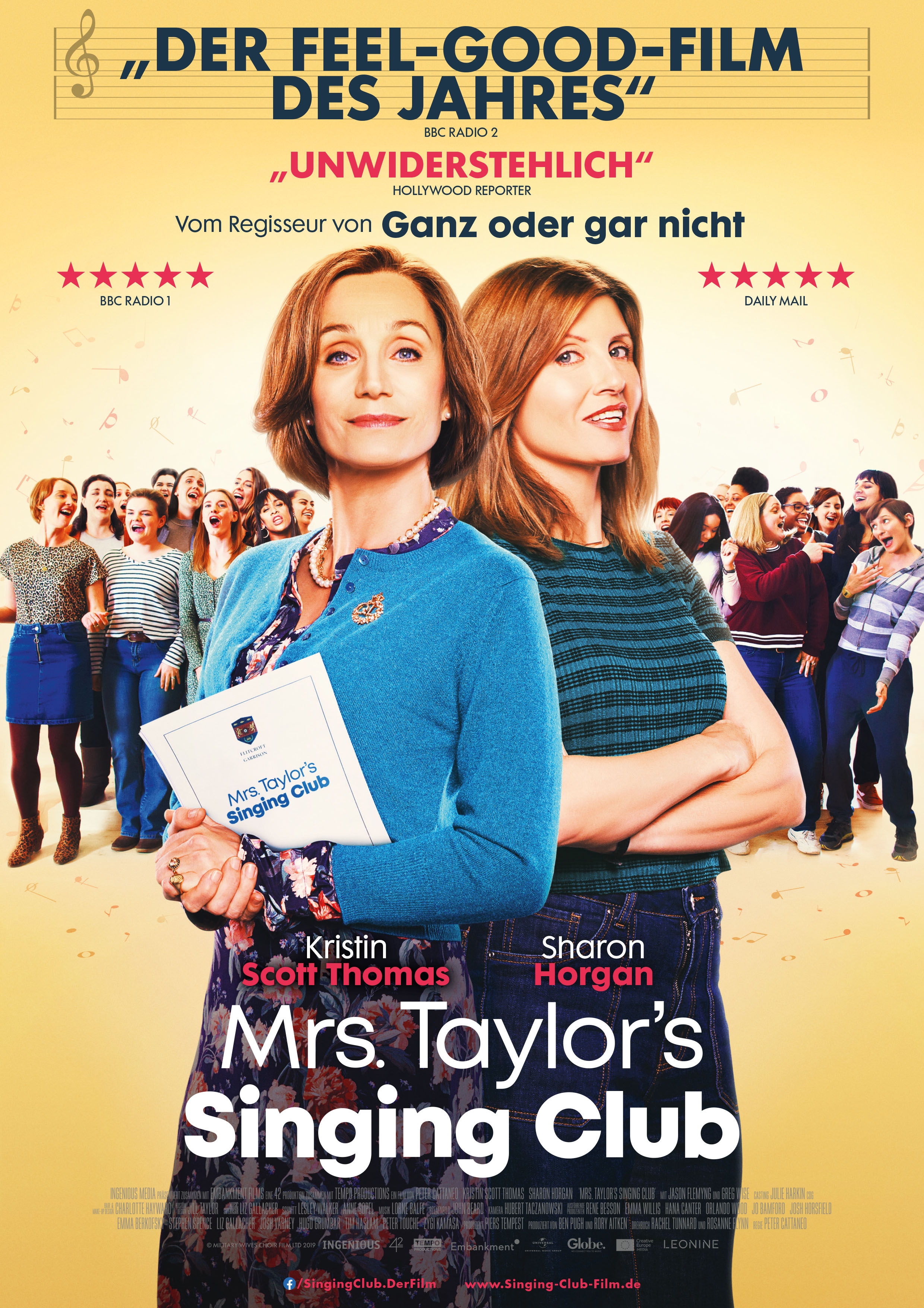 """Mrs. Taylor's Singing Club"" Neuer Kinostart am 8. Oktober 2020"