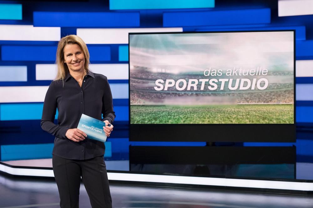 """""""das aktuelle sportstudio"""" im ZDF"""