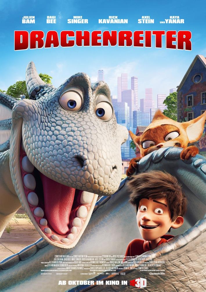 DRACHENREITER startet am 1. Oktober im Kino