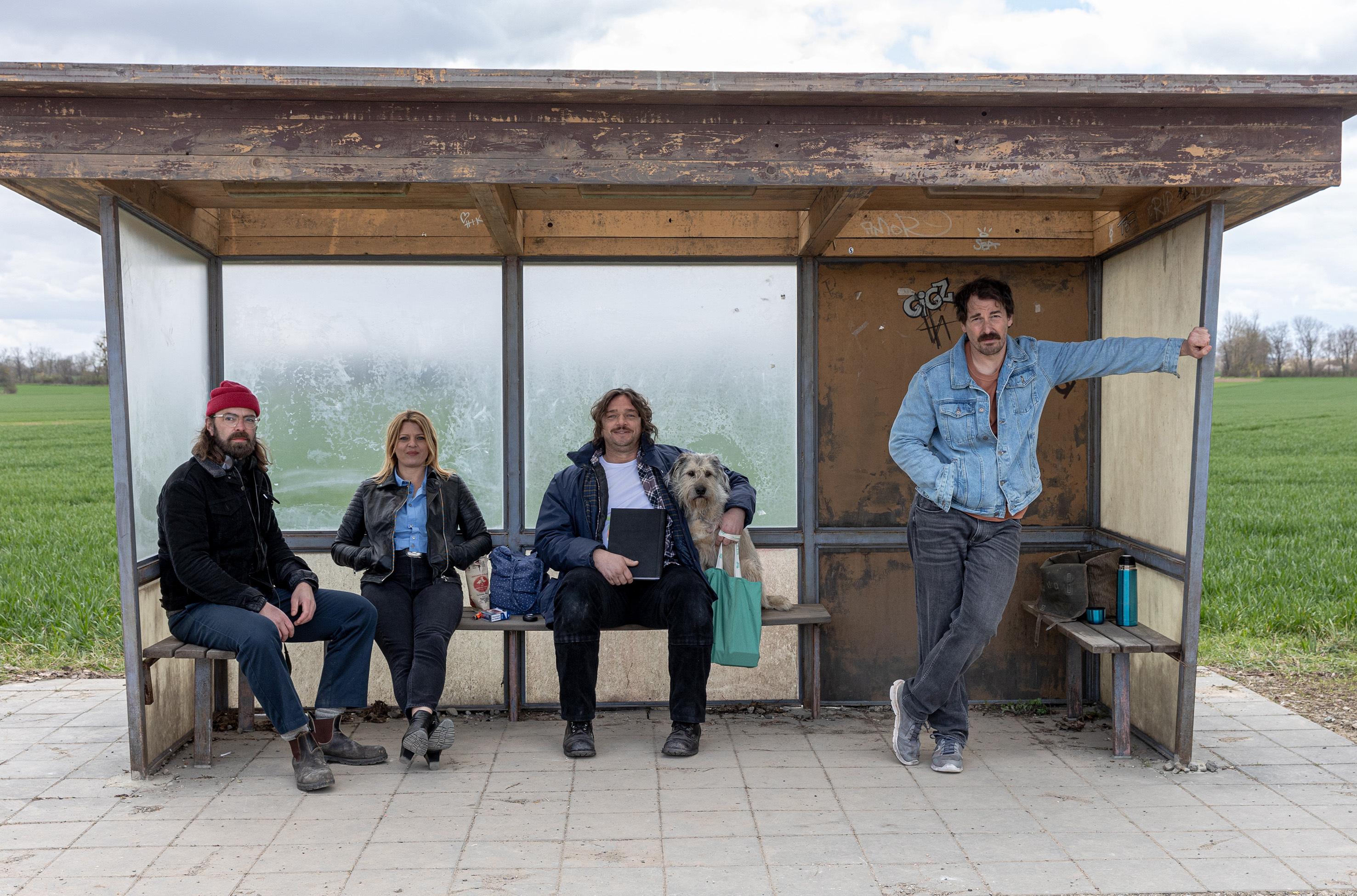 """Drehstart für die zweite Staffel """"Warten auf'n Bus"""""""